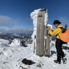 1月13日 冬の氷ノ山へ!その名の通りの雪山でヒップソリ激走と有名カオナシさんとの出会い