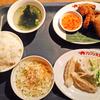 「アジアン天国」の「タイ風からあげ&水餃子 ランチ」