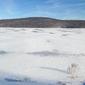 01 08 2018.     A  frozen lake