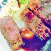 【阿倍野 洋食とステーキ健】ジューシーで分厚いビフカツ