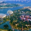 シンガポール旅行編 その2。無料でマリーナベイサンズホテルの最上階から夜景を楽しむ方法