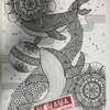絵の新作「紀州の海」