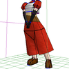 過去モデルの改変では表現できないマダムの魅力 ミンスクさんペーパークラフトメイキングその2