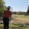 ゴルフ スウィングが終わった後のクラブの収め方…  これから少し拘ってみようかなぁ…