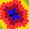 平面の等量等形分割『凸5角形(ガイドあり)』