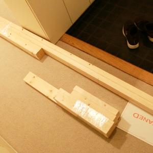 【賃貸DIY】2万円でここまでできる壁掛けテレビ!ディアウォールで穴を開けないDIY [その2]