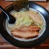 加賀市山代温泉にある串揚げ・ラーメンのお店、ハレトケでラーメン。