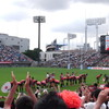 勝った! リポビタンDチャレンジマッチ 2013.06.15 ウェールズvs日本 観戦記