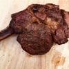 【ロンドンで週末夫料理#6】アメリカンBBQ!トマホークステーキ!塊肉をおいしく焼く!