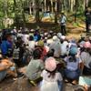 林間学習 防災訓練