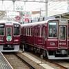 速報、阪急神宝線正雀車庫への回送。