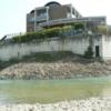 大阪某所 川の中に湧く冷泉