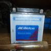 ACデルコの電解液チェック
