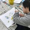 「急げ!」「さあ、飛び立とう」絵画教室