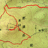 紅葉の始まった那須岳