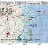 2017年08月10日 16時33分 岩手県沿岸北部でM4.0の地震