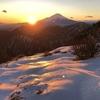 塔ノ岳~丹沢山~蛭ヶ岳② 大倉から登り雪の丹沢を歩く 2019.12.27~12.28
