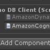 Unity:Amazon DynamoDB を C# から利用する