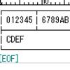 teratermで罫線の表示 2