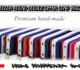 トリコロール 長財布 ダブルファスナー ラウンドファスナー 財布 本革 型押し エナメルクロコ, マットクロコ, カイマン, リザード | L'PIERRE(エルピエール)