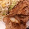 松屋新メニュー「豚肩ロースの生姜焼き定食」頂きました!^^