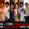"Top 40 Japanese Melee players before Brawl (2001-2008) | ""Demigods"" 6th -13th"