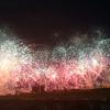 穴場と評判の「東京競馬場花火大会」に行ってきた!【席取り,飲食,スタンド】