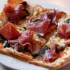 「フランス産5種キノコとパルマ産生ハムのピザ」のご紹介
