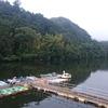 亀山ダムでスタート