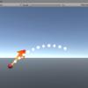Unity で物理運動の軌跡を予測して描画する