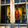 取材の思い出その3/服を着たお地蔵さん 奈良・伝香寺