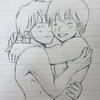 裸で抱き合うゴロトシ♡ラブ&ハッピー♡