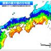 南海トラフ巨大地震の震度予測(最悪クラス4ケース+経験的手法)