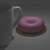 Blenderでドーナツ作り(3) マグカップも作る