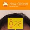 今日の顔年齢測定 110日目