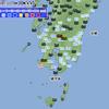 5月15日からの九州での非常に激しい雨
