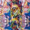 芸術作品になったファッション - 強烈な色彩と幾何学的な模様