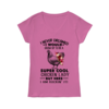 Pretty I Never Dreamed i would grow up to be a super cool chicken lady but here i am rockin' it shirt