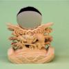 日本製の神具を使おう 竜彫神鏡の上位版 他のと比べると大きい