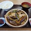 大好きな茄子をニンニク醤油で頂きました @千葉茂原 永田ドライブイン