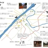 ルアンパバーンの地図を作りました♪旅行記とあわせてお楽しみください。