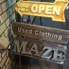 【三軒茶屋】古着屋「MAZE(メイズ)」へ行ってきました!