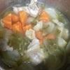 生姜入りスープ