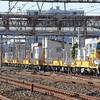 JR東日本レール輸送用車両の試運転