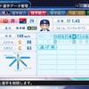 2012年 山井大介 パワプロ2019