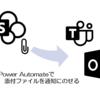 Power Automate で SharePoint リストの添付ファイルを通知にのせる方法