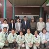 9日、東電第一原発視察、京都からの参加も含め18人が参加。まだまだ程遠い廃炉の道のり