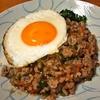 挽肉のタイ風炒めご飯