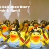 【3・4月】ギリホリちゃん成長日記&家計簿