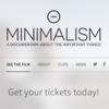 ミニマリズムドキュメンタリー 8月予定:有料ダウンロード